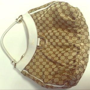 Gucci logo handbag